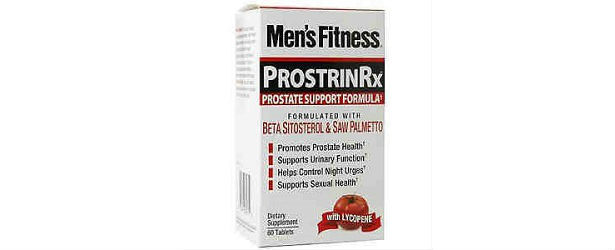 Men's Fitness Prostrin Rx Prostate Support Review