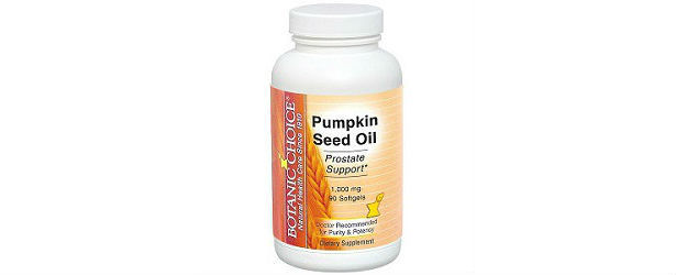 Botanic Choice Pumpkin Seed Oil Review
