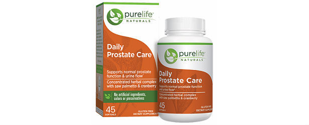 Daily Prostate Care By PureLife Naturals Review