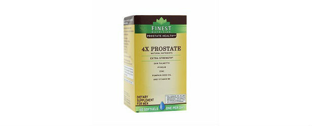 Finest Nutrition 4x Prostate Extra Strength Review