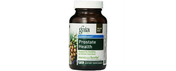 Gaia Herbs Prostate Health Review
