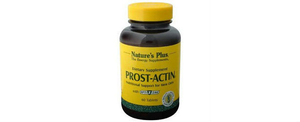 Natures Plus Prost-Actin Tablets Review