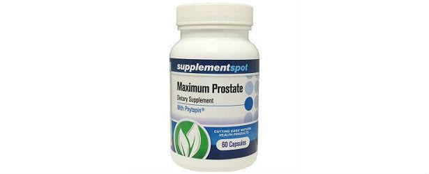 Supplement Spot Maximum Prostate Support Review